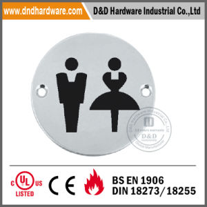 Stainless Steel Sign Plate for Public Washroom (DDSP012) pictures & photos