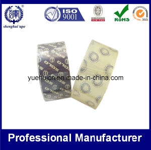 Super Clear Packing Tape with Logo in Core pictures & photos