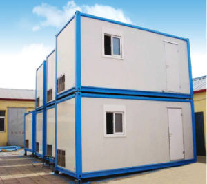 Simple House PU Panel Steel Frame House Folding Container Restaurant pictures & photos
