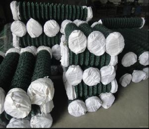 2inch Hole Galvanized Chain Link Fencing in Roll pictures & photos