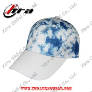 Polyester Drawing Printing Baseball Caps Magic Tape Closure pictures & photos