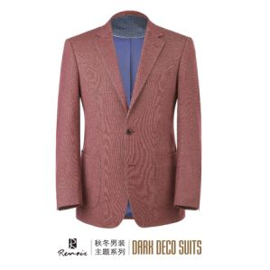 OEM 2017 Classic Fit Notch Lapel Woolen Men′s Blazer pictures & photos