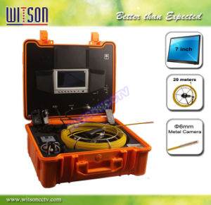 Witson 6mm Camera Head Sewer Pipe Inspection Camera pictures & photos