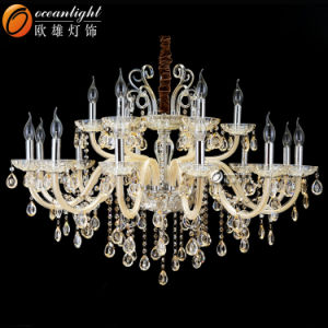 Crystal Candle Pendant Stainless, Hanging Candle Chandelier Lighting pictures & photos