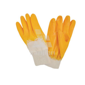China Manufacturer Gloves with Nitrile Flat Coating pictures & photos