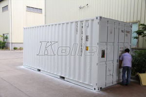 2000kg Containerized Ice Block Maker Machine with Cold Storage Room pictures & photos