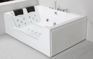Pure Acrylic Indoor Whirlpool Bathtub pictures & photos