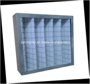 Pleated Panel Air Filters with Aluminum Frame for Primary Filtration pictures & photos