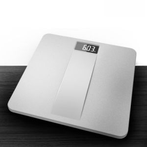 Metal Texture Design Electronic Weighing Scale with Strong Plastic Platform pictures & photos