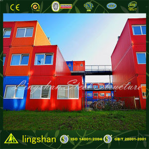 Modern Econmonic Prefab Container House for Hotel (LS-VC-P003) pictures & photos