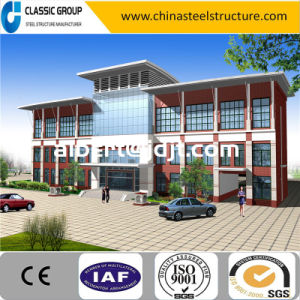 Economic Prefabricated Steel Structure Office Building Cost pictures & photos