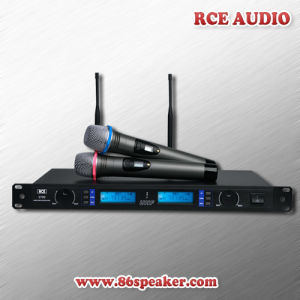 Professional Dual Channel UHF Wireless Microphone System for Handset or Handheld Microphone Use
