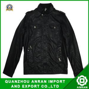 Fashion Clothing PU Jacket for Men (Padded 29305)