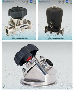 Stainless Steel (SS) Sanitary Diaphragm Valve pictures & photos