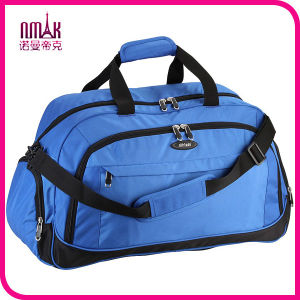 Lightweight Sports Gym Duffle Bag with Water Bottle Holder Fashion Nylon Tote Travel Storage Case pictures & photos
