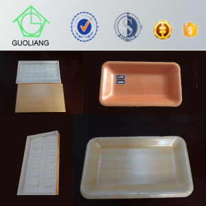 Frozen Food Packaging Manufacture Cheap Rectangular Disposable Plastic Sushi Tray pictures & photos