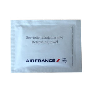 Airfrance Wet Wipes with Your Own Logo pictures & photos