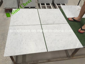 Wholesale Floor Arabescato Calacatta Gold Statuario Carrara White Marble Tile pictures & photos