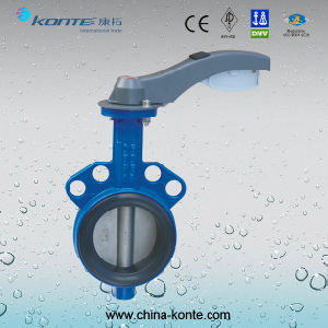 D71X-10L Manual Aluminium Butterfly Valve pictures & photos