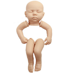 Bulk Purchase Handmade Doll+Kits 22inch Silicon Vinyl Doll Part Accessories Reborn Baby Silicone