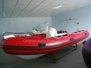 Inflatable Rigid Rib Boat 470 Ce pictures & photos