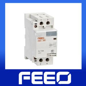 2p 63A/40A Modular AC Contactor pictures & photos