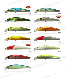 Fishing Tackle Plastic Lure Bait Fishing Lure--Bass Minnow (HYT004) pictures & photos