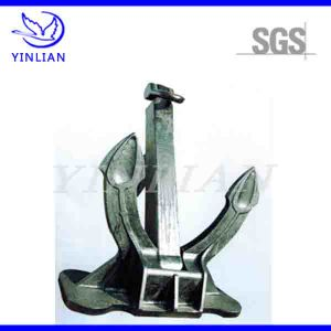 Sand Casting Spake Anchor for Ship Spare Part with Carbon Steel