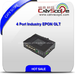 Industry Mini Four Ports Gepon Network Olt pictures & photos