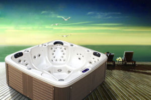 High Quality Sex Hot Tub Whirlpool Freestanding SPA pictures & photos