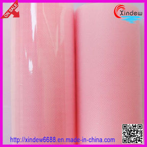 Nylon Tulle Mesh Fabric pictures & photos