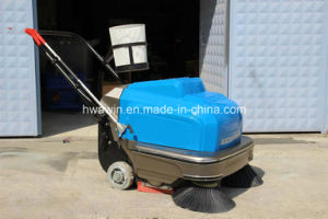 Electric Hand Push Road Sweeper Road Clean Machine pictures & photos