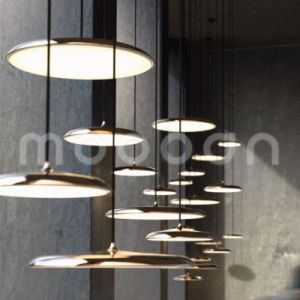 Northern Europe Style Disk Shape Copper Design Pendant Lamp for Dining Room pictures & photos