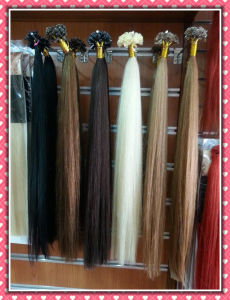 Premium Brazilian Human Hair Extensions Pre-Bonded Flat Tip Hair Silky 20inches pictures & photos