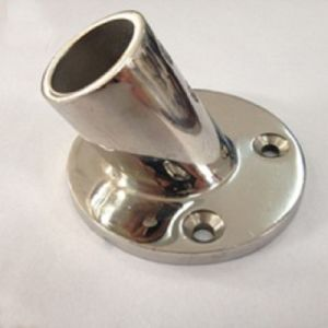 Stainless Steel Casting Lagpole Base Marine Hardware (Machining Parts) pictures & photos