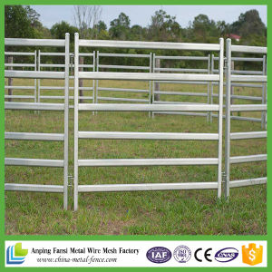 Hot DIP Galvanized Cattle Yard Panel with Gate for Australia pictures & photos