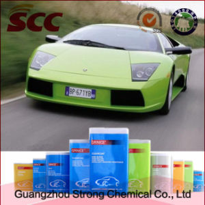 Superior Adhesion Green 2k Topcoat Car Paint