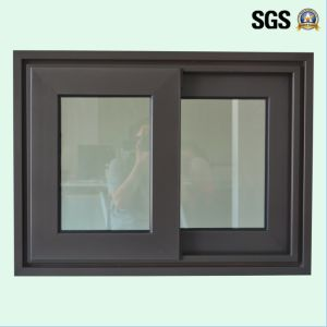 High Quality Double Glass Aluminum Sliding Window K01080 pictures & photos