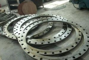 Hot Forging Forged Wind Power Flange pictures & photos