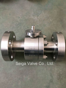 High Pressure Forged Steel Ball Valve pictures & photos