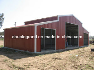 Waterproof/Fireproof/Wind Resistant Prefabricated Steel Warehouse pictures & photos