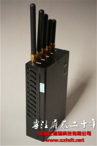 5-CH Handheld Cellular Portable (Built-in Battery) Cellphone & WiFi Bluetooth & GPS Signal Jammer pictures & photos