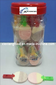 Table Tennis Shape Milk Candy with Whistle Pop pictures & photos
