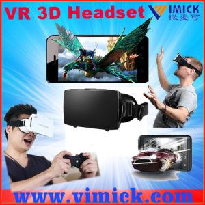 Vr Personal Home Cinema Plastic Google Cardboard Virtual Reality Vr Headset 3D Eyewear Glasses for 5.5 Inch Smartphone Screen