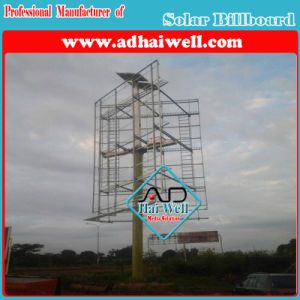 Solar Power Advertising LED Spot Lighting Billboard Structure pictures & photos