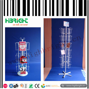 CD Spinner Display Rack with Customised Pockets pictures & photos