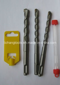 SDS Hammer Drill Bits with Double Flute Sandblasting Finish pictures & photos