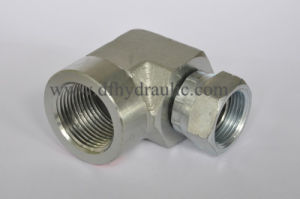 90 Elbow Female/Swaged Hose Steel Part (1502) pictures & photos