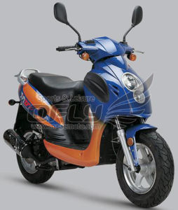 EEC 50CC Gas Motor Scooter (YY50QT-21B(2T)) pictures & photos