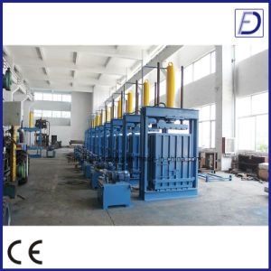 Hydraulic Cotton Yarn Vertical Baler pictures & photos